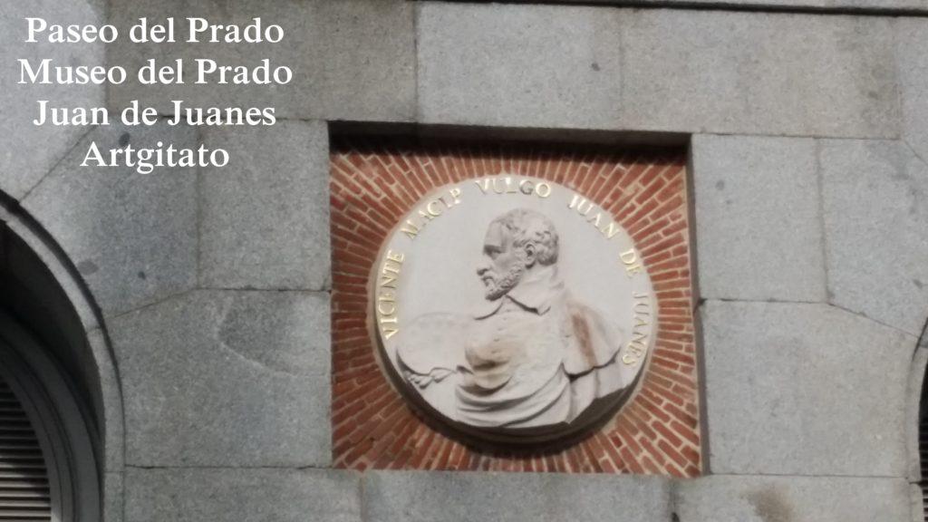 Museo del Prado Paseo del Prado Artgitato Juan de Juanes