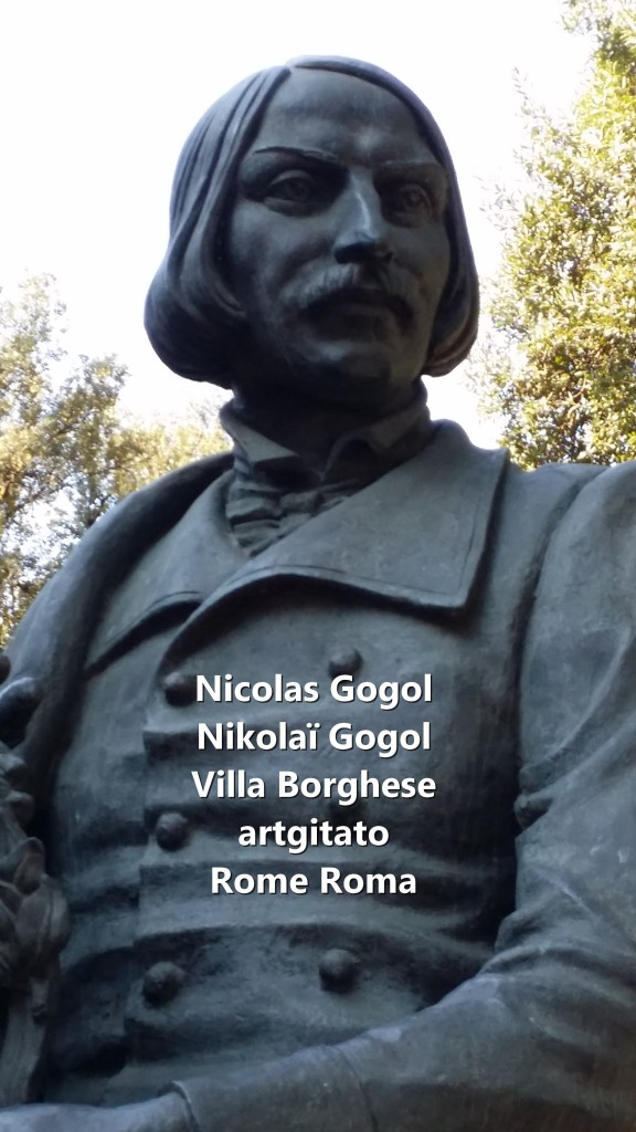 Nikolai Gogol Nicolas Gogol Rome Roma Villa Borghese artgitato 2