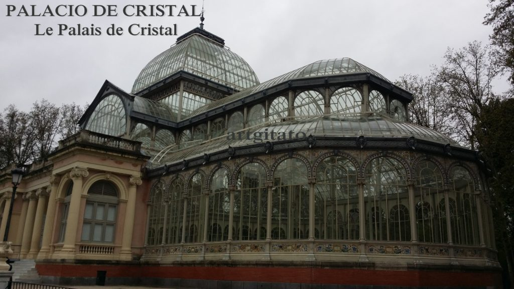 PALACIO DE CRISTAL Madrid Palais de Cristal Parque de El Retiro Artgitato 91