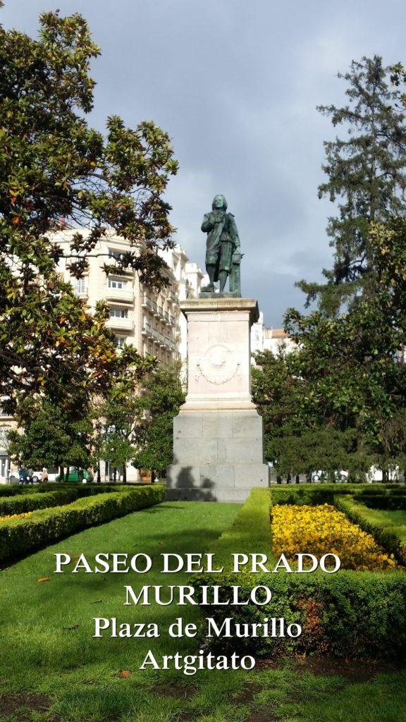 PASEO DEL PRADO Plaza de Murillo Artgitato 2