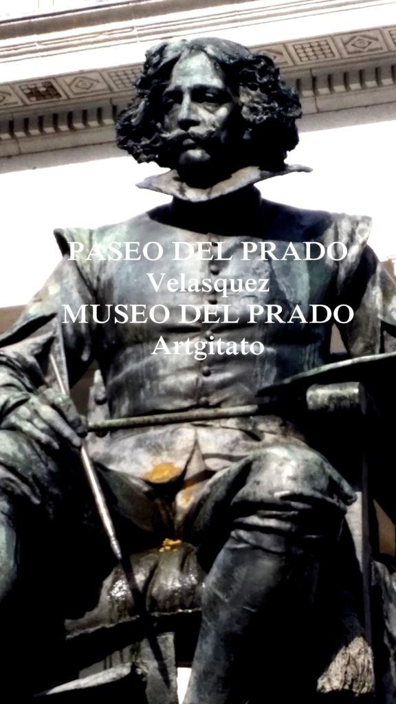 Paseo del Prado Museo del Prado Velasquez artgitato 0