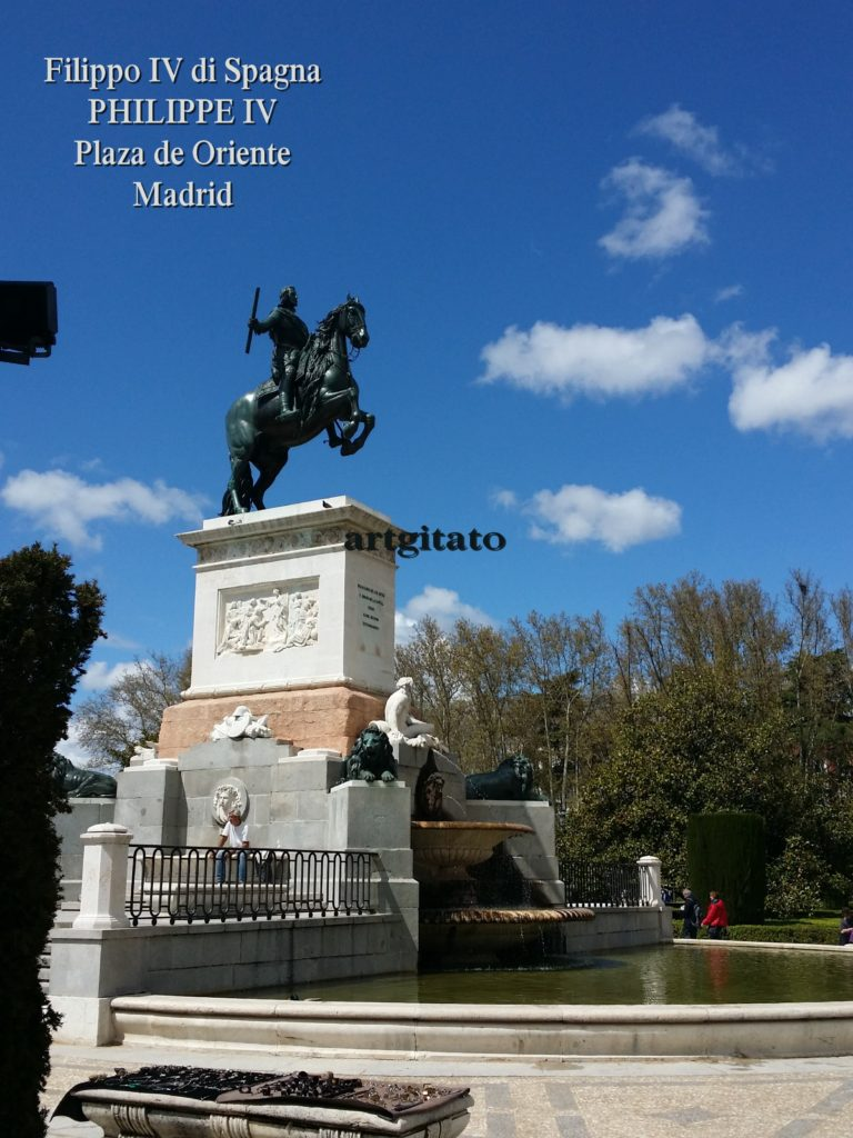 Philippe IV Philip_IV_of_Spain Plaza de Oriente Place de l'Orient Artgitato 4