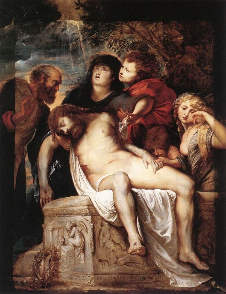 Pierre Peter Pieter Rubens_Deposition nel sepolcro - Déposition dans le sépulcre