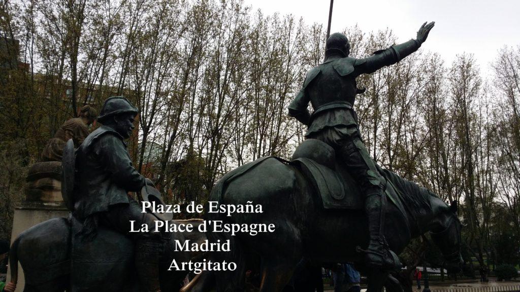 Plaza de España Place d'Espagne Madrid Artgitato 00