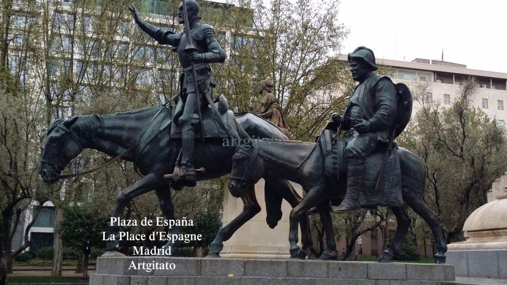 Plaza de España Place d'Espagne Madrid Artgitato 000