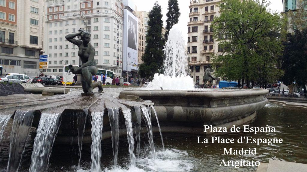 Plaza de España Place d'Espagne Madrid Artgitato 1