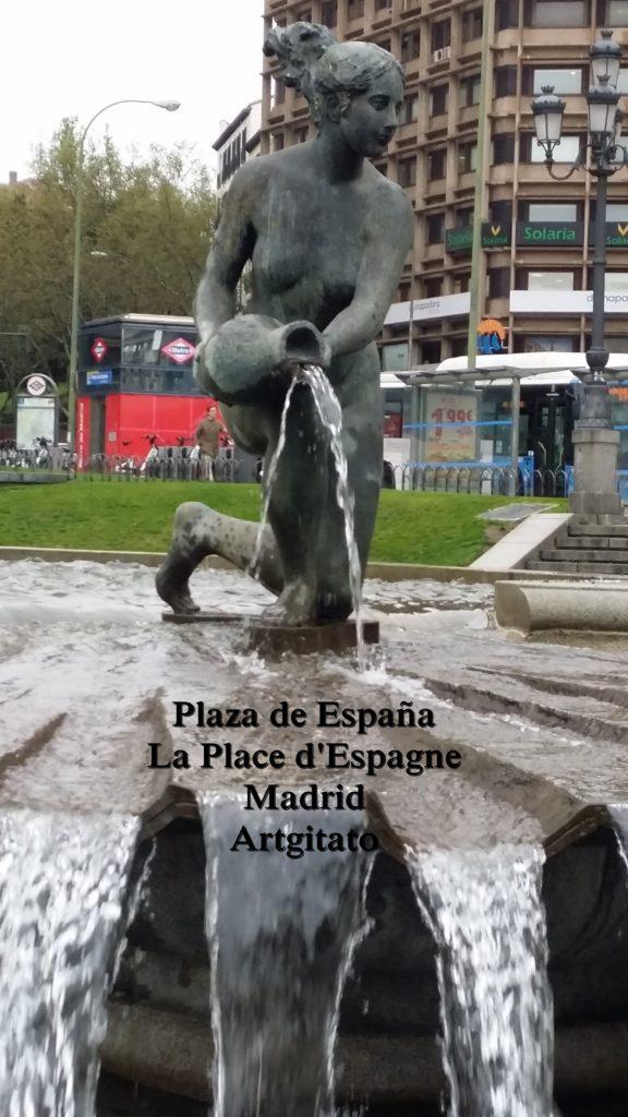 Plaza de España Place d'Espagne Madrid Artgitato 2