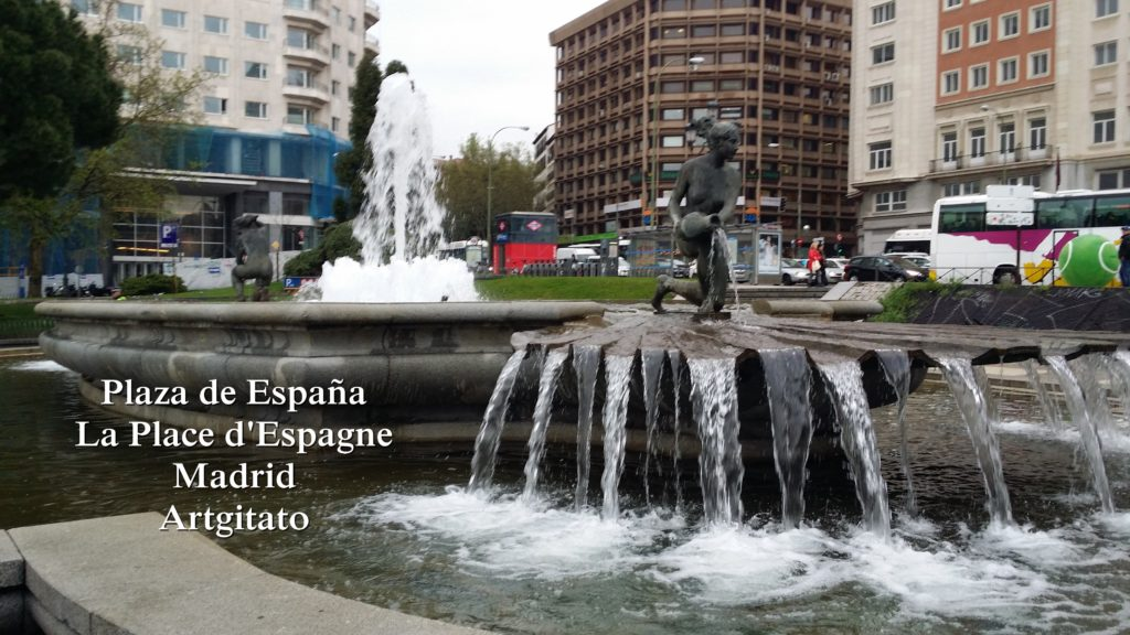 Plaza de España Place d'Espagne Madrid Artgitato 3