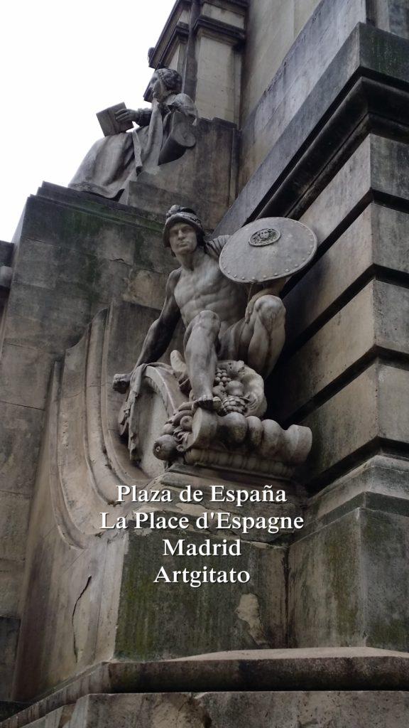 Plaza de España Place d'Espagne Madrid Artgitato 7