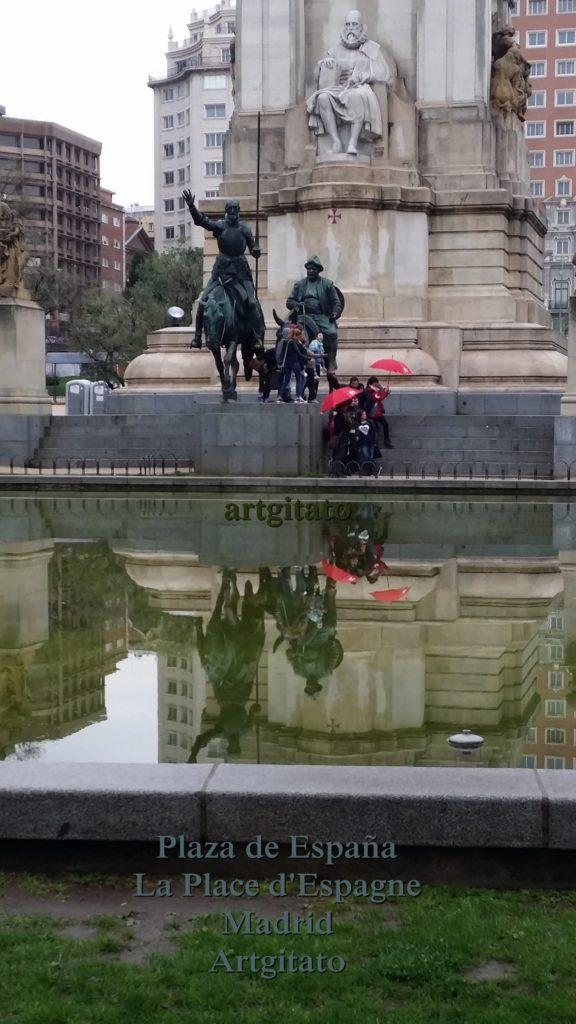 Plaza de España Place d'Espagne Madrid Artgitato 9