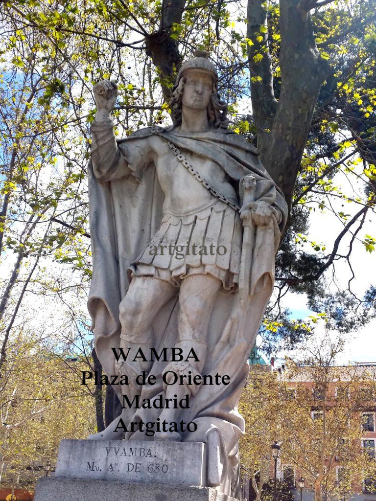 Plaza de Oriente Place de l'orient Madrid Artgitato Wamba