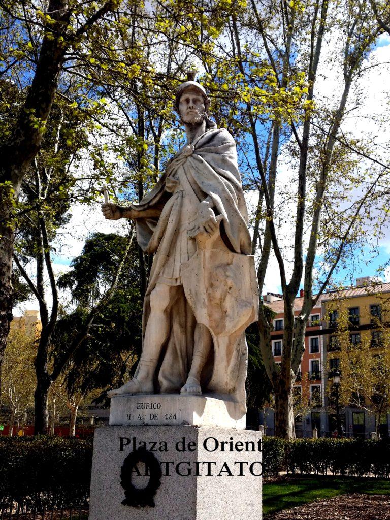 Plaza de Oriente Place de l'orient Madrid Athaulf eURICO