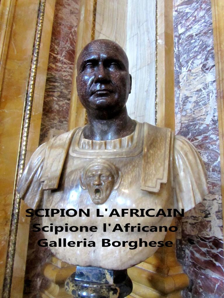 SCIPION L'AFRICAIN Scipione l'africano artgitato Galleria Borghese Galerie Borghese