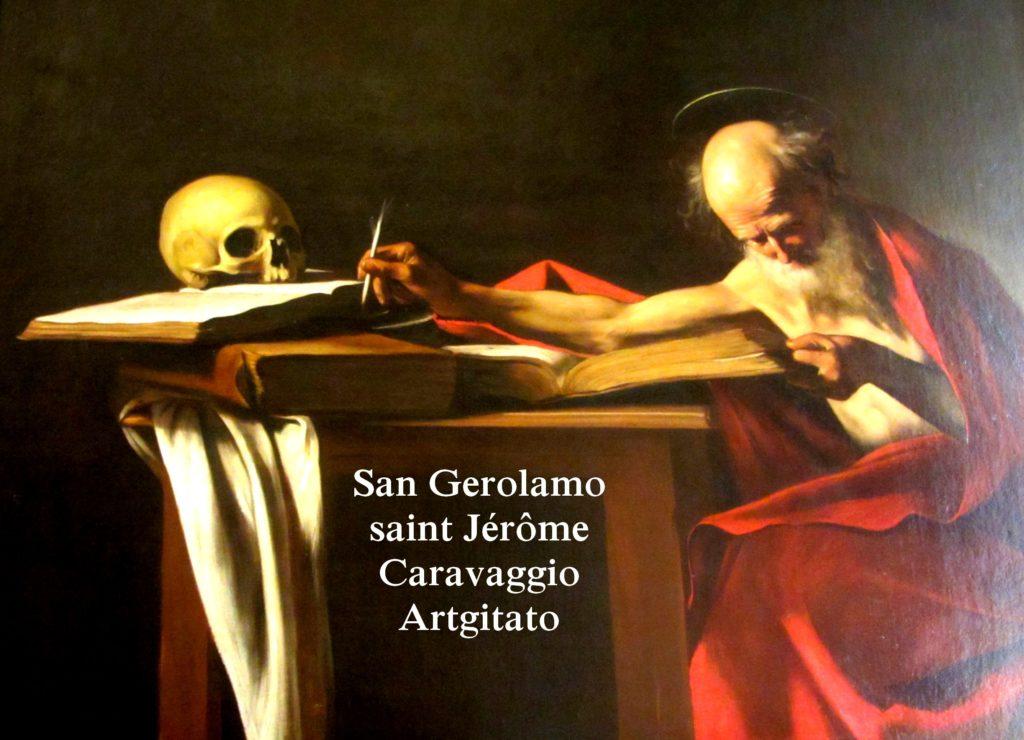 Saint Jérôme Caravaggio san Gerolamo Galleria Borghese Galerie Borghèse artgitato