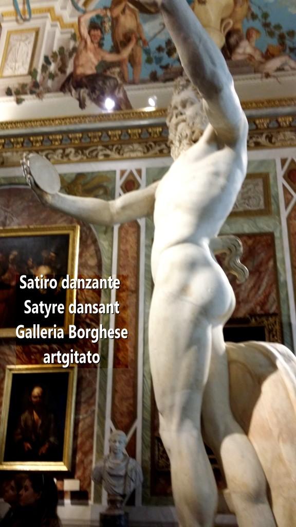Satiro danzante Satyre dansant Galleria Borghese Galerie Borghese artgitato 3