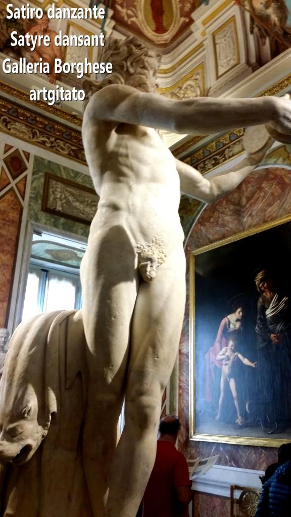 Satiro danzante Satyre dansant Galleria Borghese Galerie Borghese artgitato