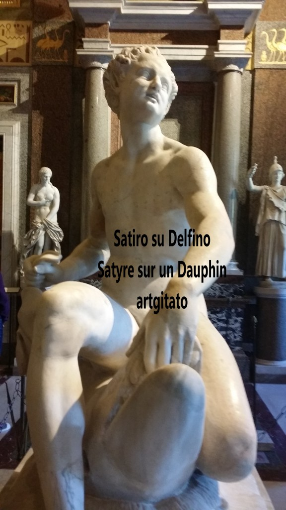 Satiro su delfino Satyre sur un dauphin Galleria Borghese Galerie Borghese artgitato