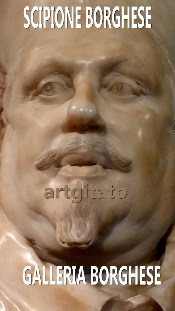 Scipione borghese Galleria Borghese roma Galerie Borghese Rome artgitato 1