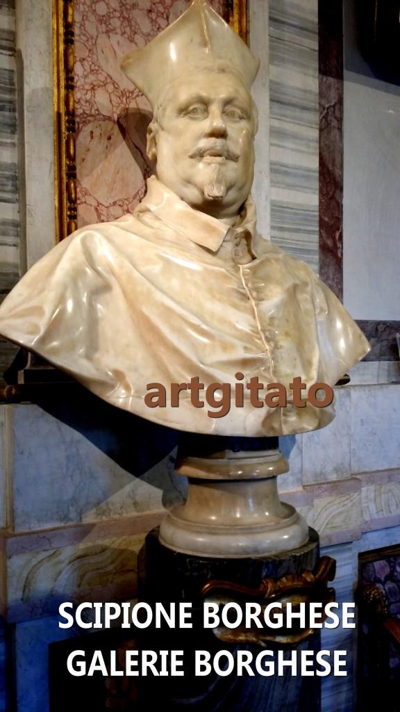 Scipione borghese Galleria Borghese roma Galerie Borghese Rome artgitato 2
