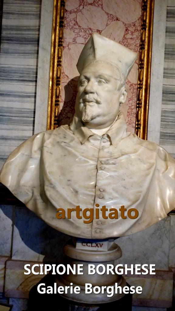 Scipione borghese Galleria Borghese roma Galerie Borghese Rome artgitato 3