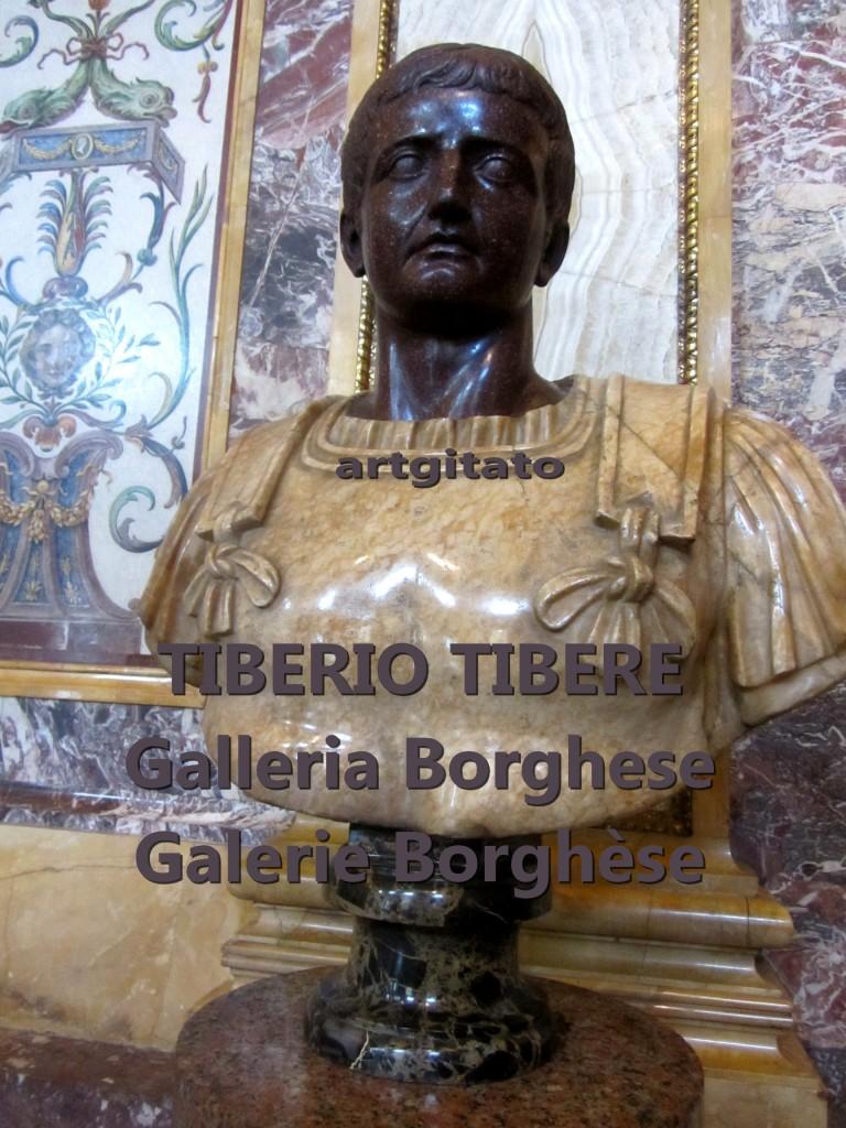 Tiberio Tibère Galleria Borghese Galerie Borghese artgitato