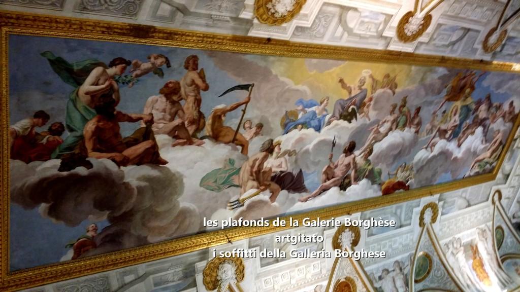 i soffitti della Galleria Borghese les plafonds de la Galerie Borghese artgitato (1)