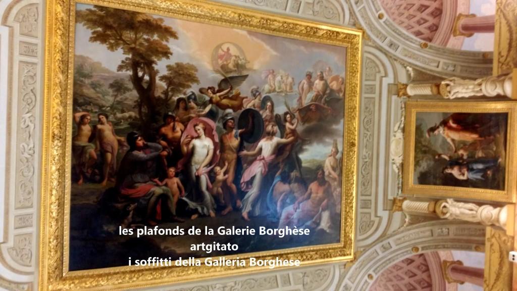i soffitti della Galleria Borghese les plafonds de la Galerie Borghese artgitato (13)
