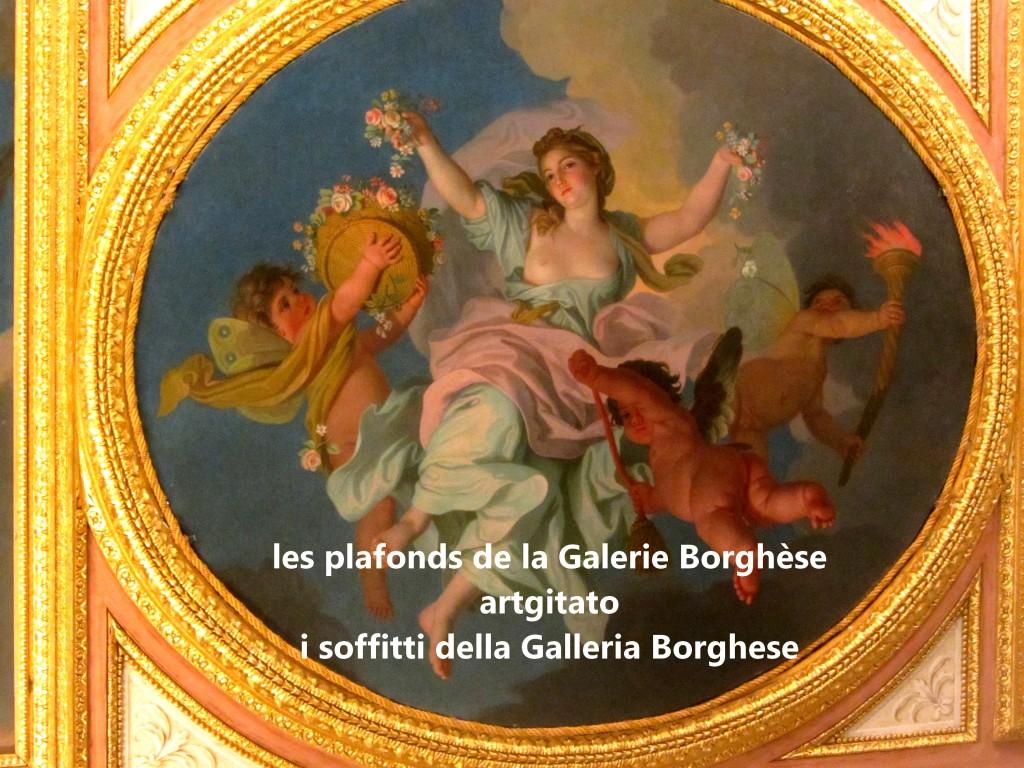 i soffitti della Galleria Borghese les plafonds de la Galerie Borghese artgitato (14)