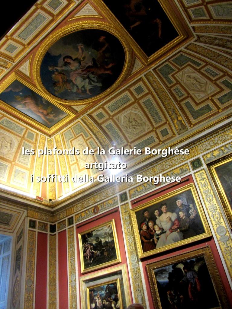 i soffitti della Galleria Borghese les plafonds de la Galerie Borghese artgitato (18)