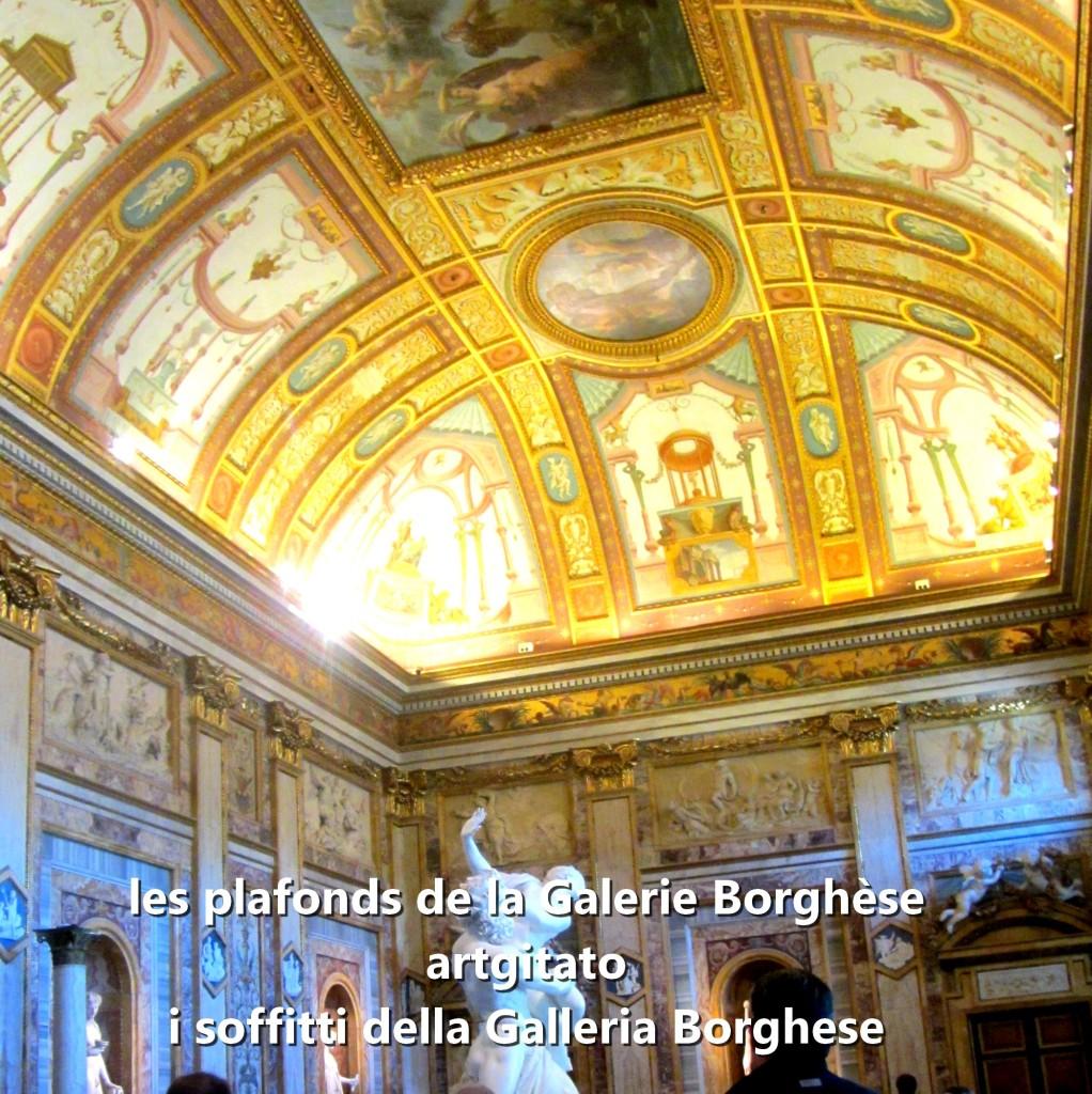 i soffitti della Galleria Borghese les plafonds de la Galerie Borghese artgitato (19)
