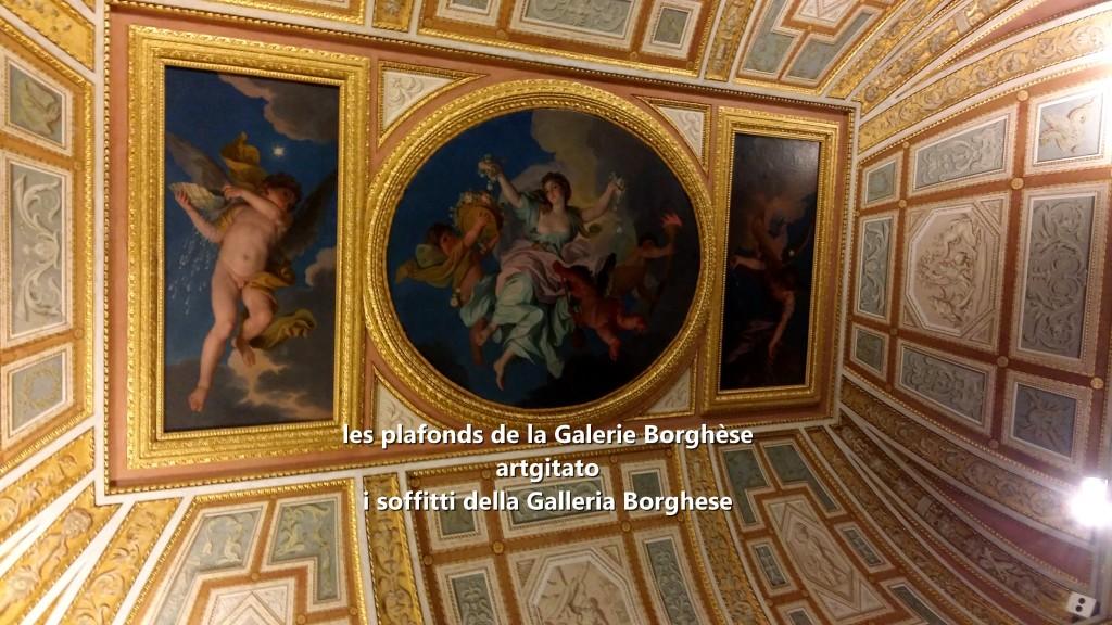 i soffitti della Galleria Borghese les plafonds de la Galerie Borghese artgitato (2)