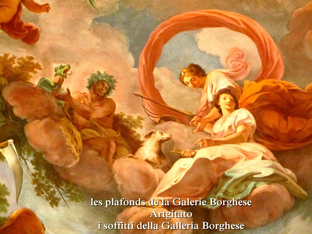 i soffitti della Galleria Borghese les plafonds de la Galerie Borghese artgitato (24)