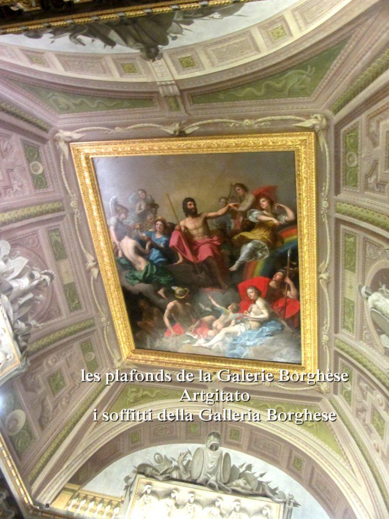 i soffitti della Galleria Borghese les plafonds de la Galerie Borghese artgitato (28)