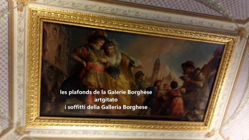i soffitti della Galleria Borghese les plafonds de la Galerie Borghese artgitato (3)