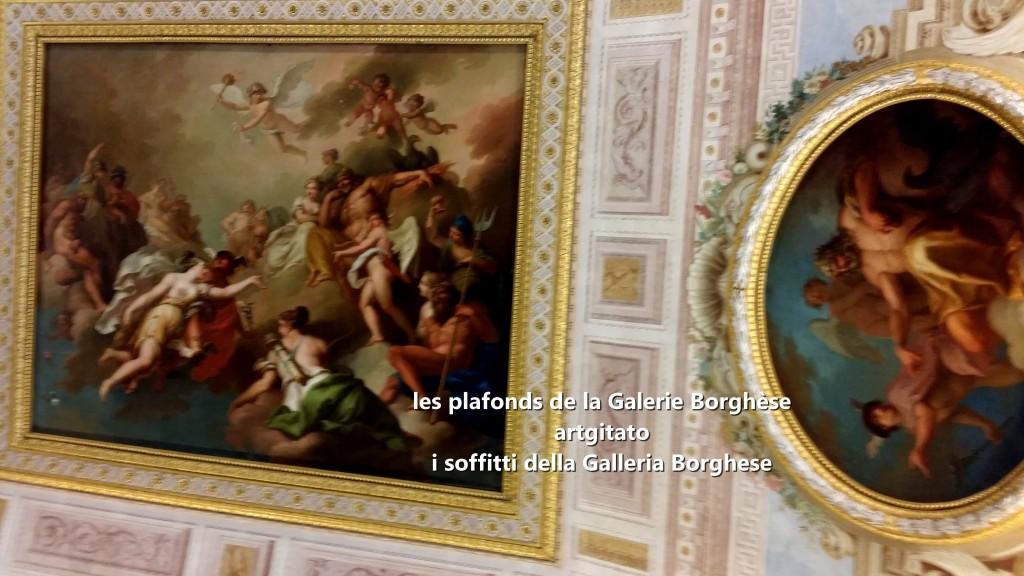 i soffitti della Galleria Borghese les plafonds de la Galerie Borghese artgitato (4)