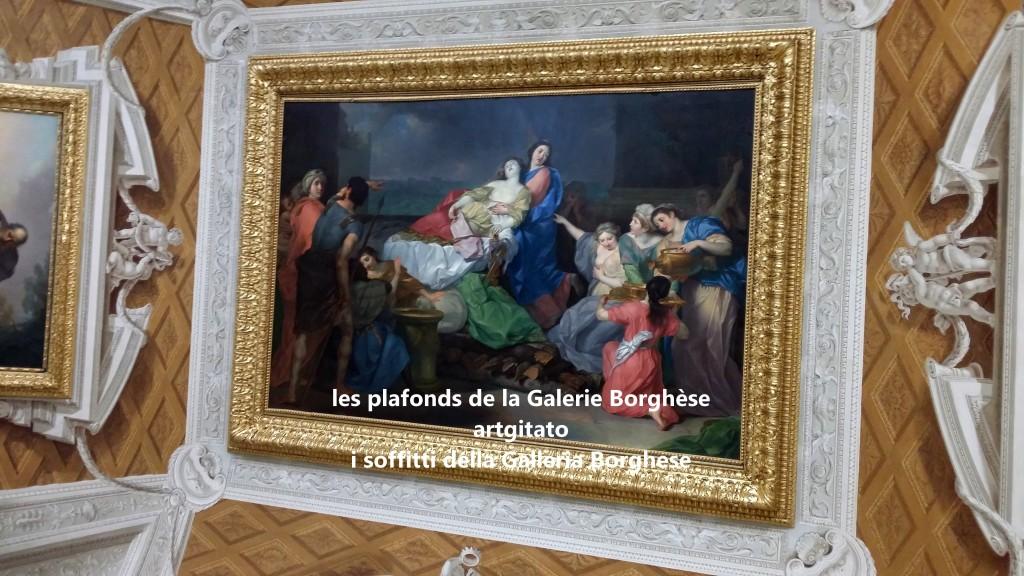 i soffitti della Galleria Borghese les plafonds de la Galerie Borghese artgitato (5)