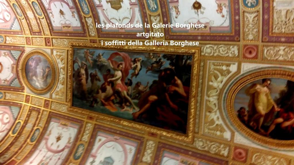i soffitti della Galleria Borghese les plafonds de la Galerie Borghese artgitato (7)