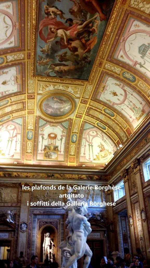 i soffitti della Galleria Borghese les plafonds de la Galerie Borghese artgitato (8)