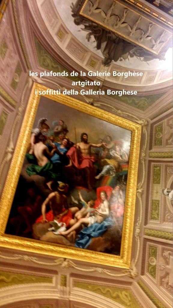 i soffitti della Galleria Borghese les plafonds de la Galerie Borghese artgitato (9)