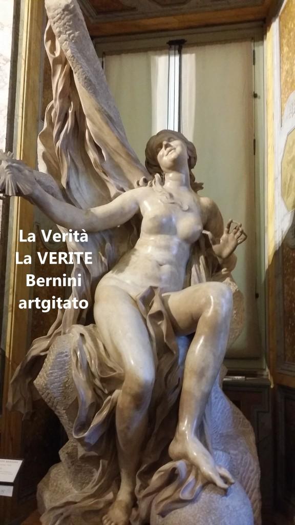 la verità bernini La Vérité Bernin Villa Borghese galleria galerie borghese artgitato (1)