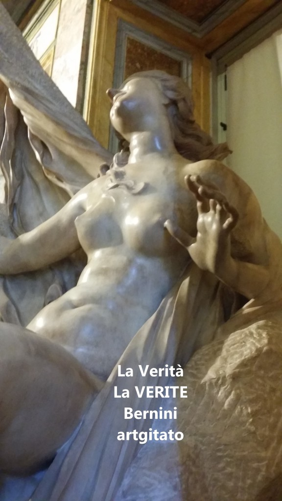 la verità bernini La Vérité Bernin Villa Borghese galleria galerie borghese artgitato (2)