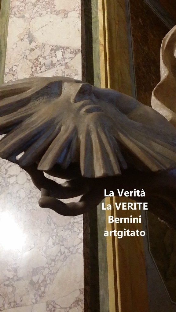 la verità bernini La Vérité Bernin Villa Borghese galleria galerie borghese artgitato (5)