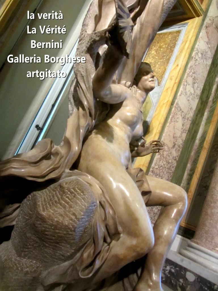 la verità bernini La Vérité Bernin Villa Borghese galleria galerie borghese artgitato (7)