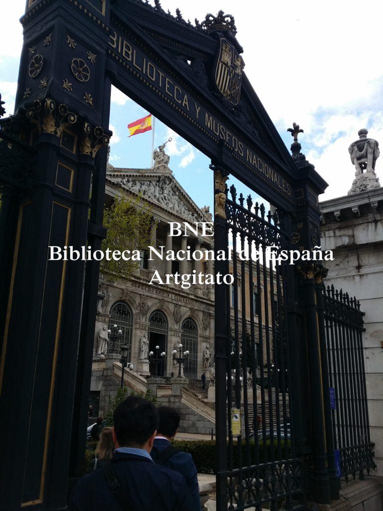 BNE Biblioteca Nacional de España Biblitothèque Nationale d'Espagne Artgitato Madrid (1)