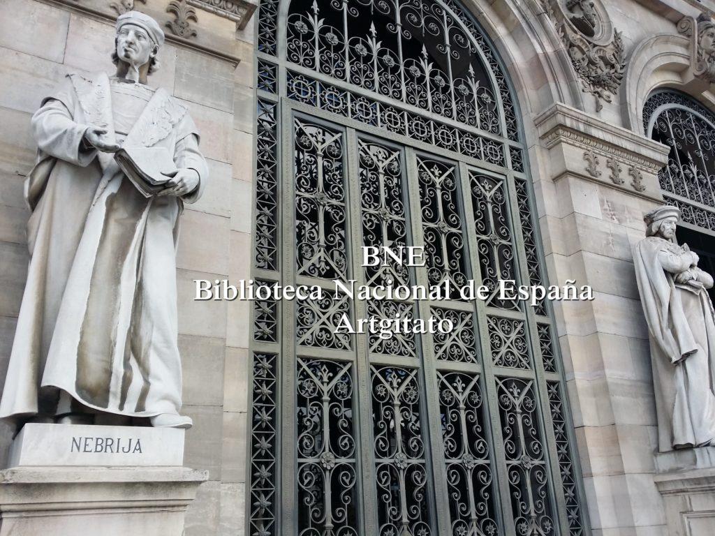BNE Biblioteca Nacional de España Biblitothèque Nationale d'Espagne Artgitato Madrid (13)