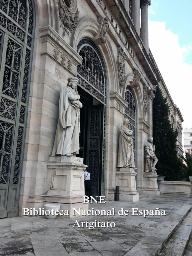 BNE Biblioteca Nacional de España Biblitothèque Nationale d'Espagne Artgitato Madrid (14)
