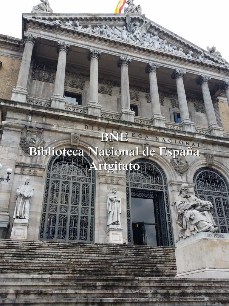 BNE Biblioteca Nacional de España Biblitothèque Nationale d'Espagne Artgitato Madrid (5)