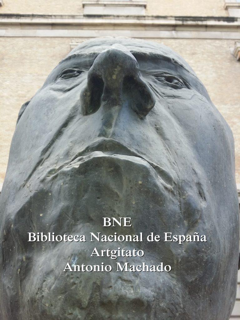 BNE Biblioteca Nacional de España Biblitothèque Nationale d'Espagne Artgitato Madrid Antonio Machado (3)