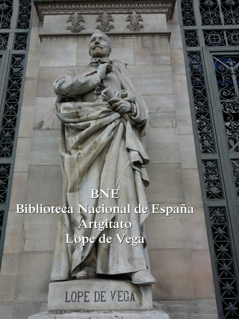 BNE Biblioteca Nacional de España Biblitothèque Nationale d'Espagne Artgitato Madrid Lope de Vega