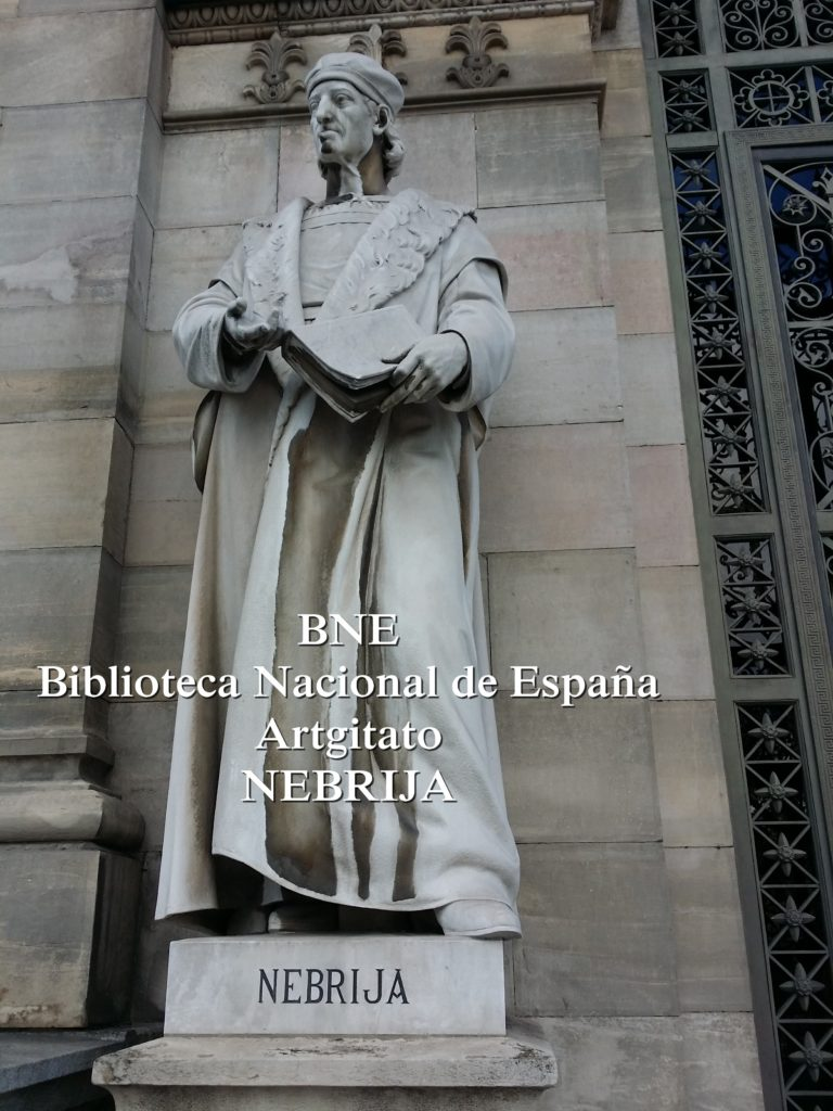 BNE Biblioteca Nacional de España Biblitothèque Nationale d'Espagne Artgitato Madrid Nebrija